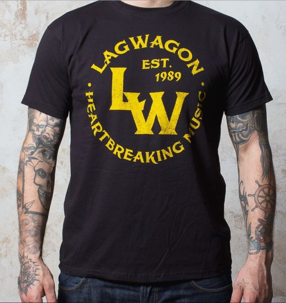 Cover LAGWAGON, vintage (boy) black