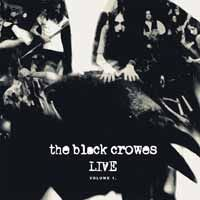 Cover BLACK CROWES, live - vol. 1