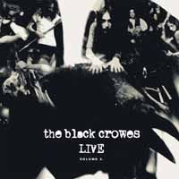 Cover BLACK CROWES, live - vol. 2