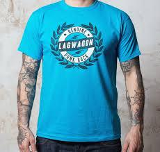 Cover LAGWAGON, crest (boy) azure blue