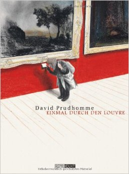 DAVID PRUDHOMME, einmal durch den louvre cover