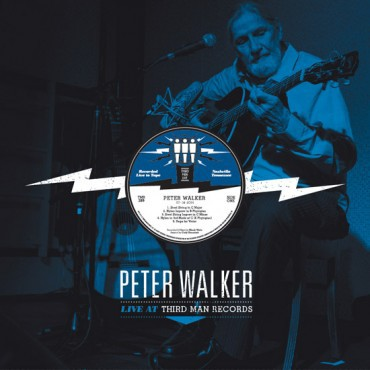 Cover PETER WALKER, third man live