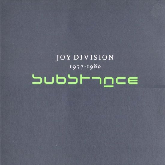 JOY DIVISION, substance cover