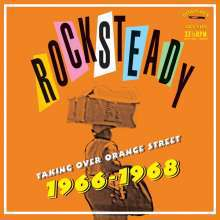 Cover V/A, rocksteady taking over orange street