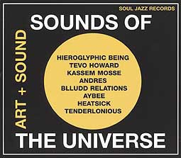 Cover V/A, sounds of the universe - art+sound 2012-15 pt.1