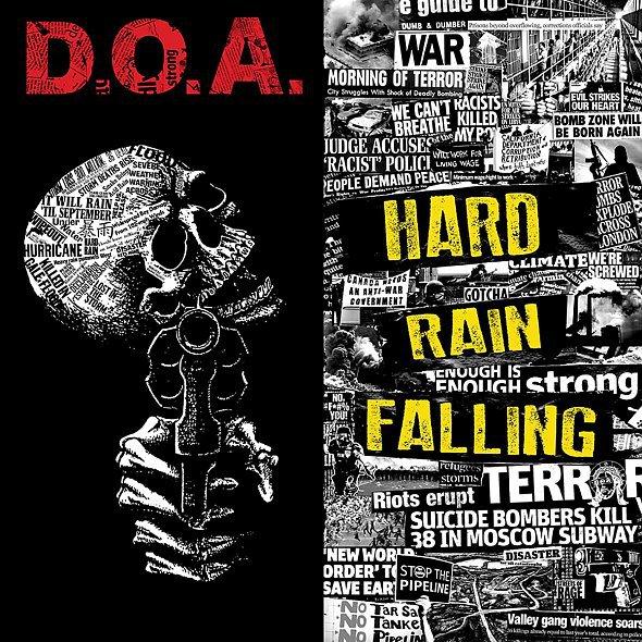 D.O.A., hard rain falling cover