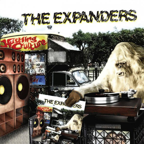 Cover EXPANDERS, hustling culture