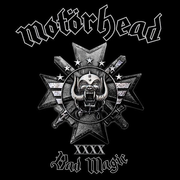 MOTÖRHEAD, bad magic cover