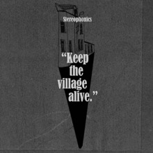 STEREOPHONICS, keep the village alive cover