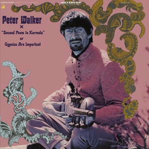Cover PETER WALKER, second poem to kamela or gypsies