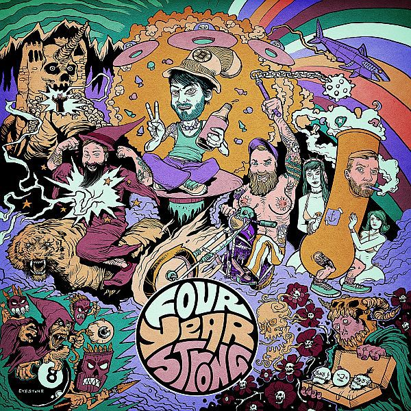 FOUR YEAR STRONG, s/t cover