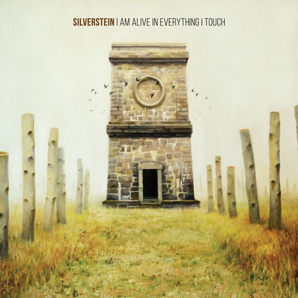 Cover SILVERSTEIN, i am alive in everything i touch