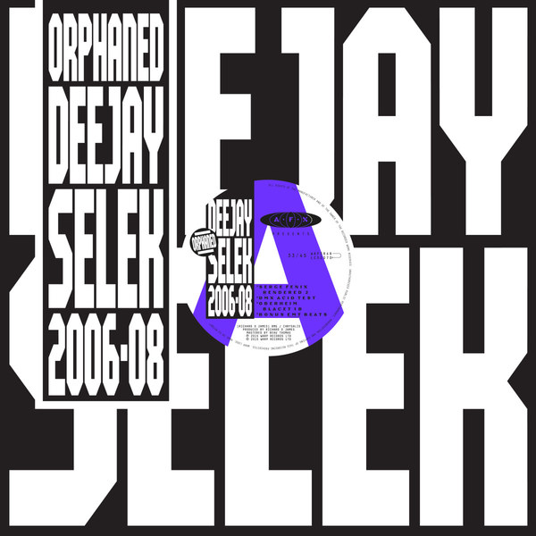 AFX (APHEX TWIN), orphaned deejay selek (2006-08) cover