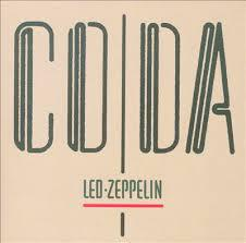 LED ZEPPELIN, coda (reissue) cover