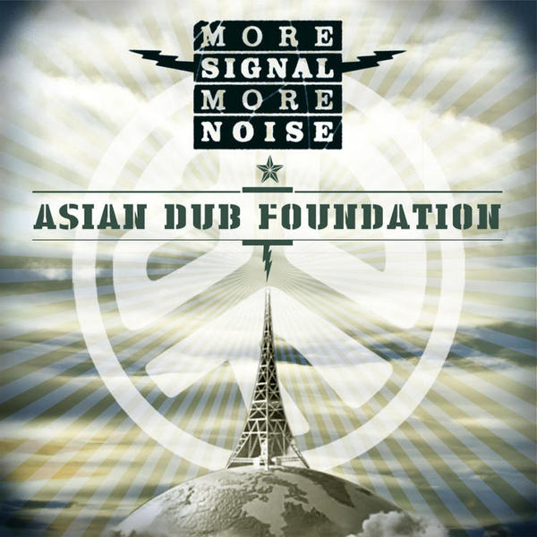 Cover ASIAN DUB FOUNDATION, more signal more noise