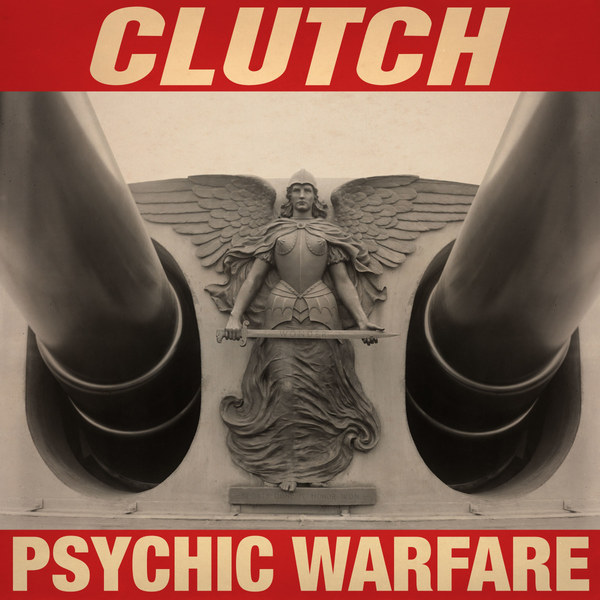 CLUTCH, psychic warfare cover