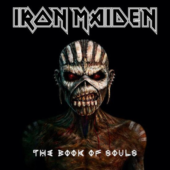 Cover IRON MAIDEN, book of souls