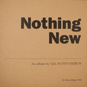 Cover GIL SCOTT-HERON, nothing new