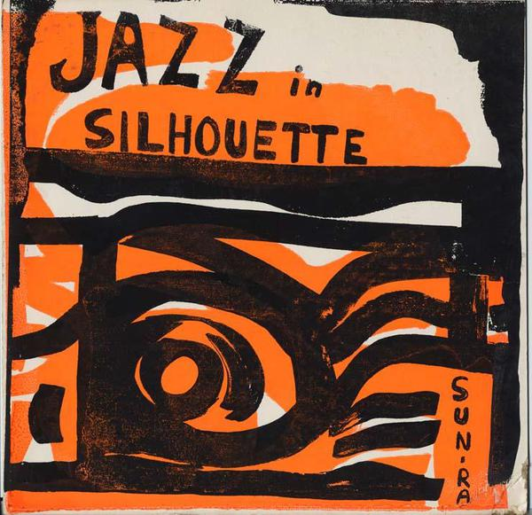 SUN RA, jazz in silhouette cover
