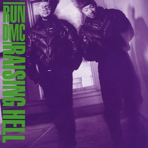 Cover RUN DMC, raising hell