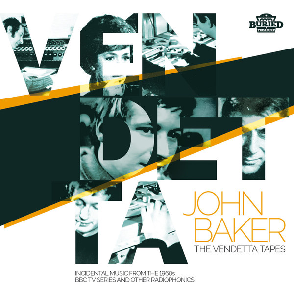 Cover JOHN BAKER & BBC RADIOPHONIC WORKSHOP, the vendetta tapes