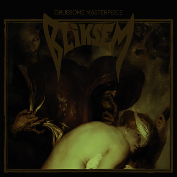 BLIKSEM, gruesome masterpiece cover