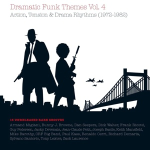 Cover V/A, dramatic funk themes vol. 4