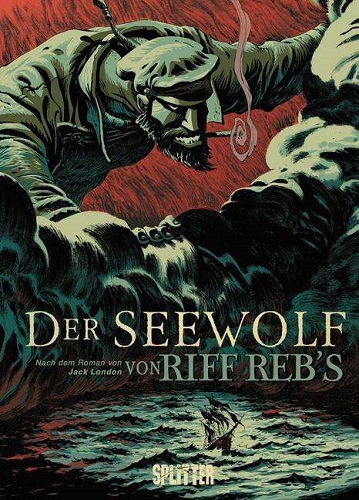 Cover JACK LONDON/RIFF REB´S, der seewolf