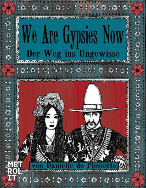 DANIELLE DE PICCIOTTI, we are gypsies now cover