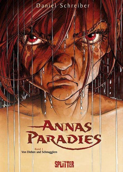 DANIEL SCHREIBER, annas paradies vol.1 cover