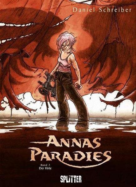 DANIEL SCHREIBER, annas paradies vol.2 cover