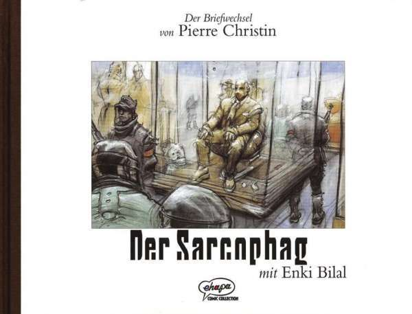 ENKI BILAL/PIERRE CHRISTIN, der sarcophag cover