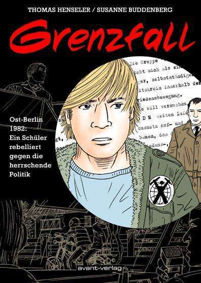 THOMAS HENSLER/SUSANNE BUDDENBERG, grenzfall cover