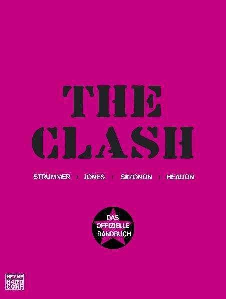 CLASH, das offizielle bandbuch cover