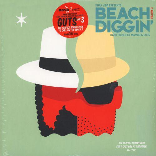 GUTS & MAMBO, beach diggin´ vol. 3 cover