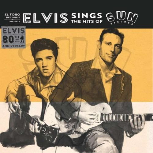Cover ELVIS PRESLEY, sings the hits of sun records