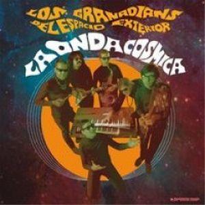 LOS GRANADIANS DEL ESPACIO EXTERIOR, la onda cosmica cover