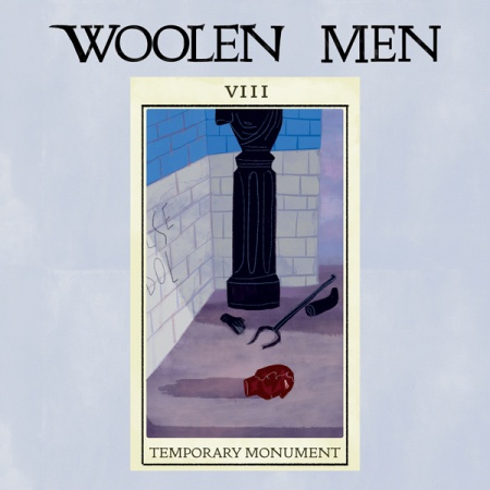 Cover WOOLEN MEN, temporary monument