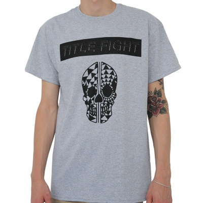 TITLE FIGHT, skull (boy) sport grey cover