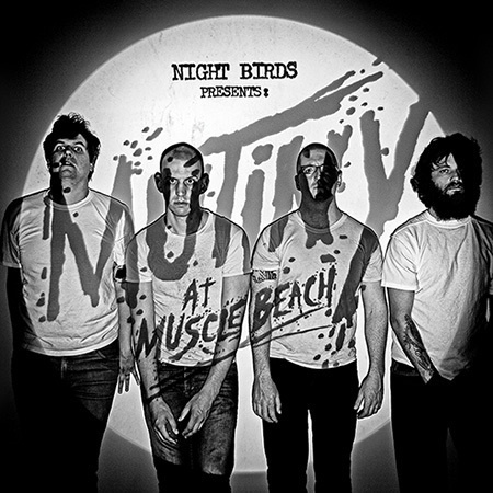 NIGHT BIRDS, mutiny on muscle beach cover