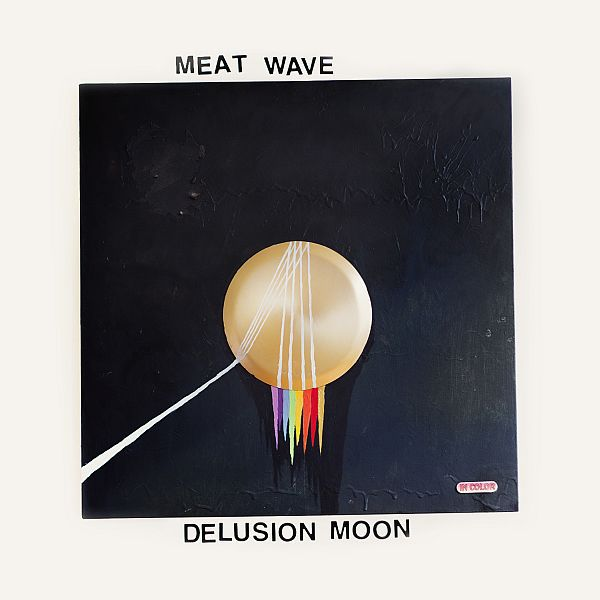 MEAT WAVE, delusion moon cover