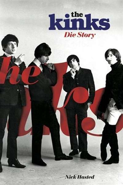 Cover KINKS, the kinks - die story