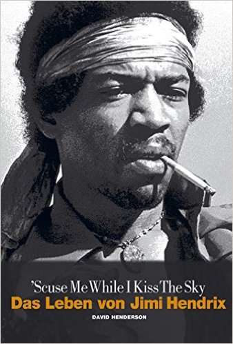 DAVID HENDERSON, scuse me while i kiss the sky cover