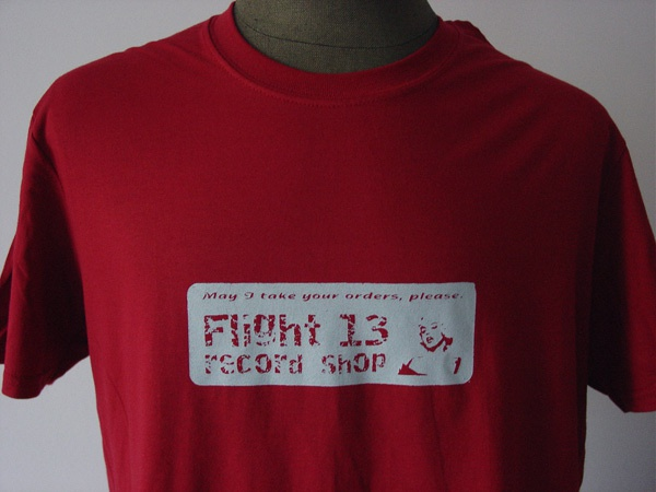Cover FLIGHT 13 RETRO SERIES, marilyn (boy), cardinal red