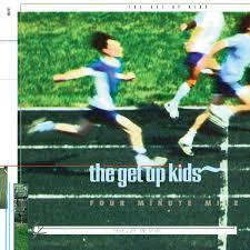 Cover GET UP KIDS, four minute mile