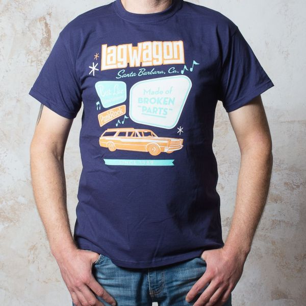 Cover LAGWAGON, 50s (boy) navy