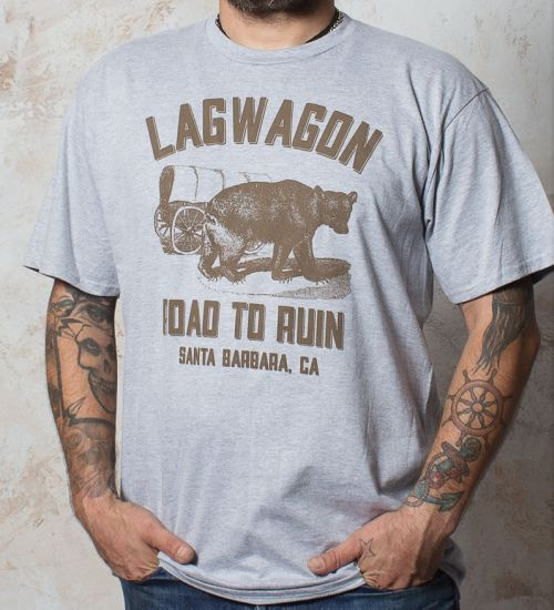 Cover LAGWAGON, road to ruin (boy) sports grey