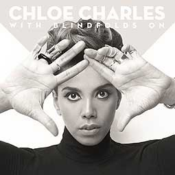 Cover CHLOE CHARLES, with blindfolds on