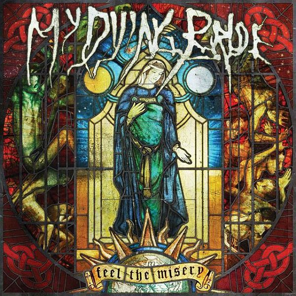 Cover MY DYING BRIDE, feel the misery