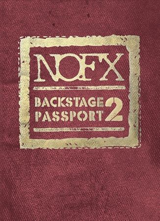 Cover NOFX, backstage passport vol. 2